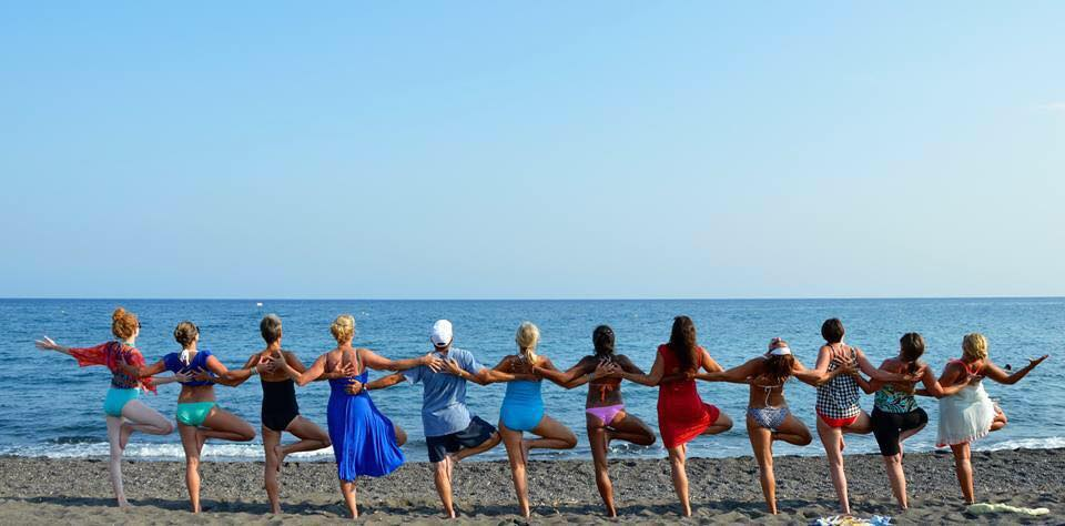Yoga on the Beach All Summer!