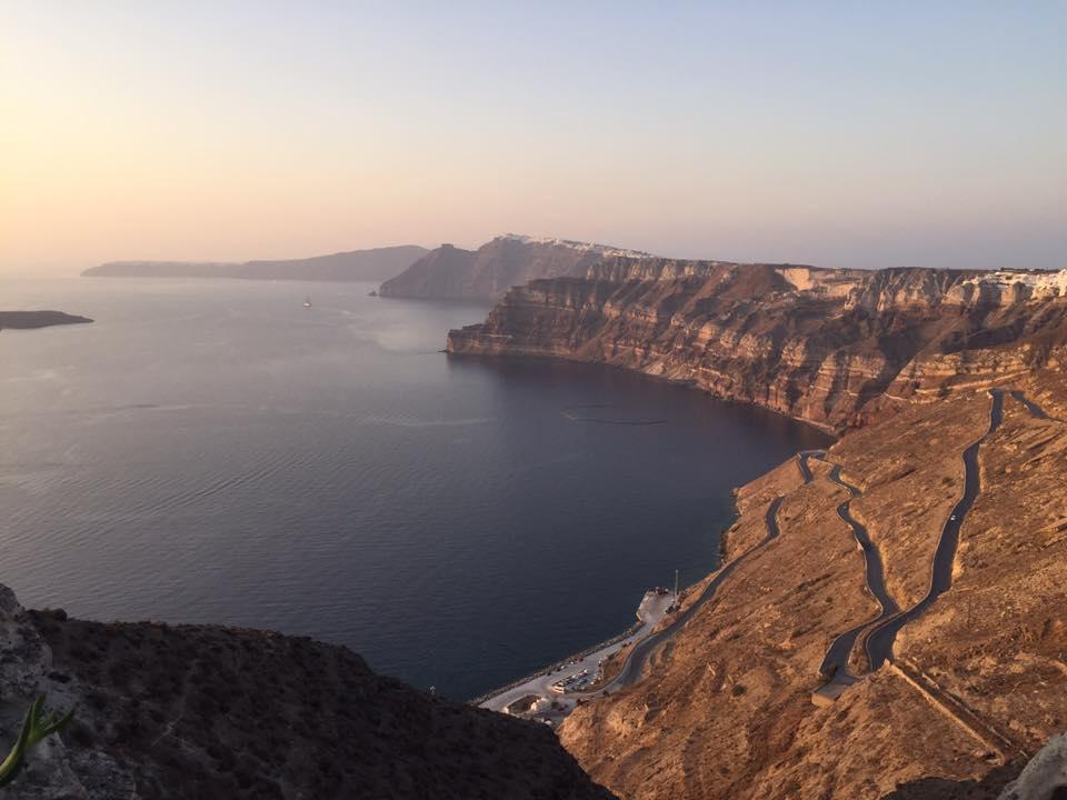 dimitraYOGA Adventure in Santorini, Greece