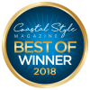 Coastal Style Magazine Best of Winner 2018 | Yoga Studio